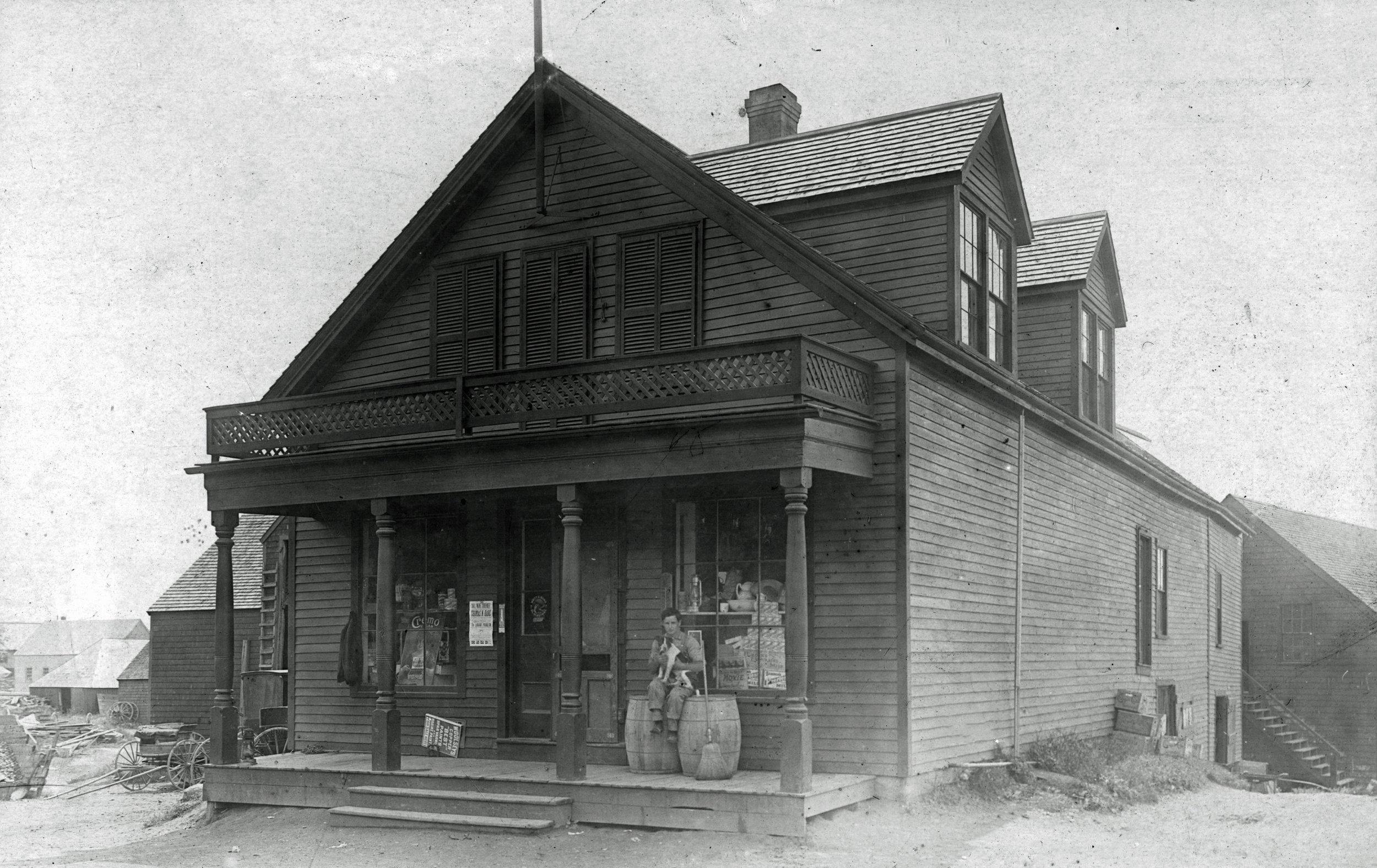 Freeman Smith's Store,mid-19th century