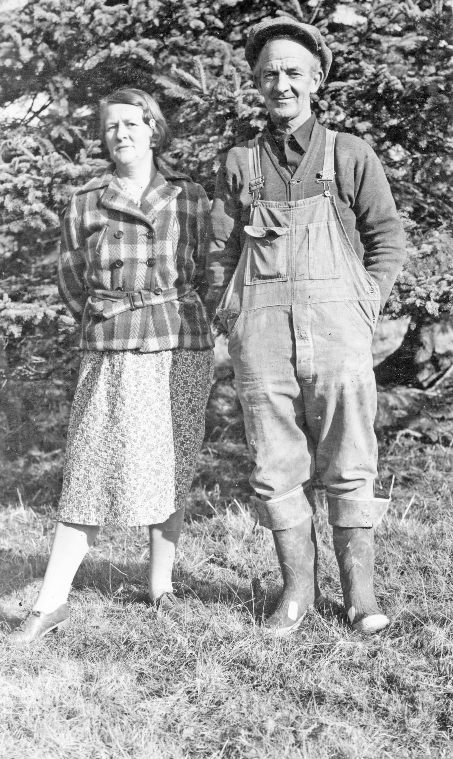Betty's parents, Ruth & Herb Parsons