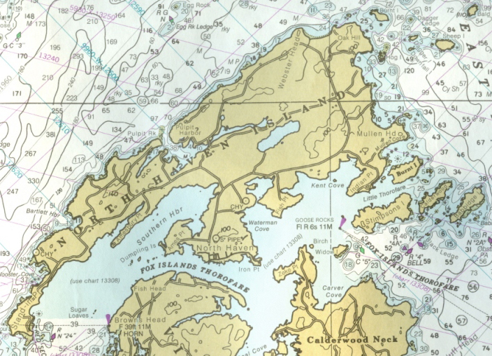 NOAA Chart 13305