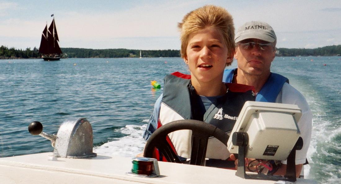 A summer boat ride