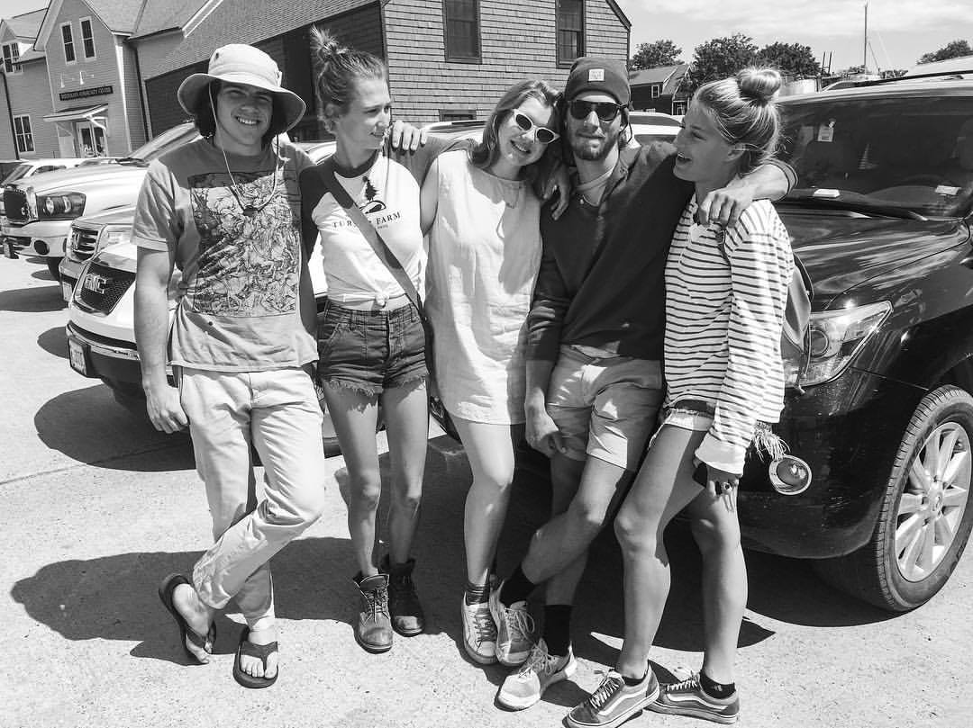 Saying goodbye to friends for the summer – Photo courtesy of Izzy Bush