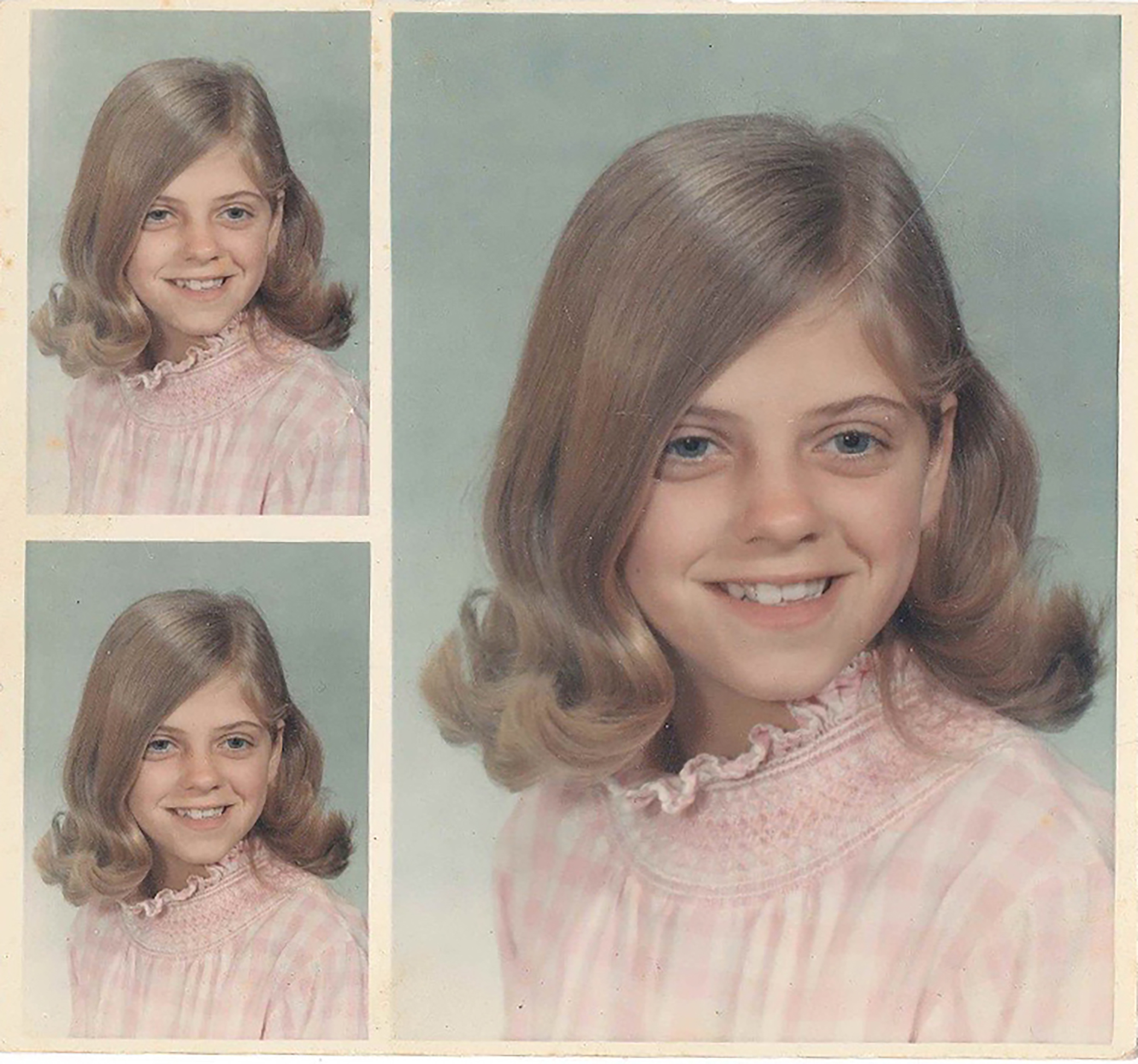 Nancy in elementary school