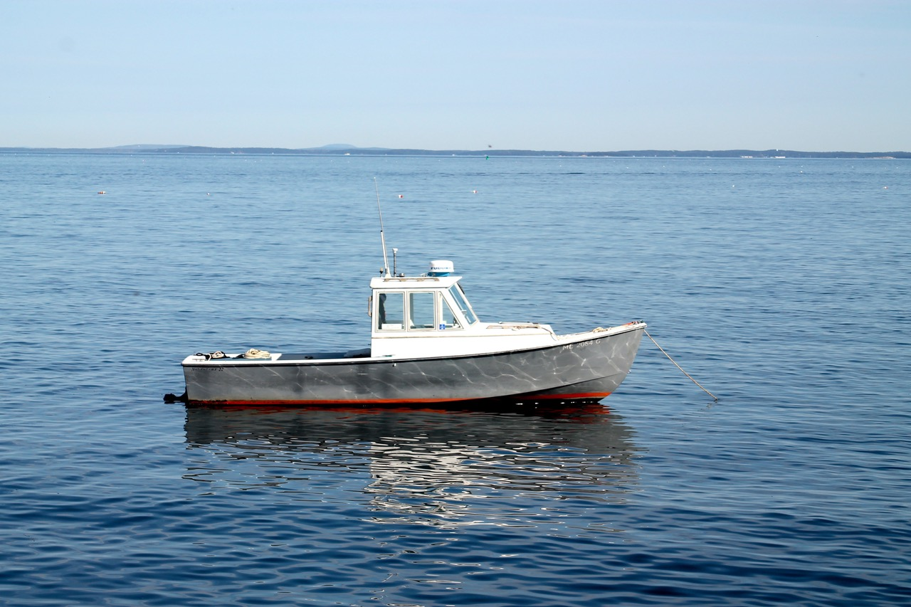 A Banks Cove 22, designed and built by Charlie – Photo courtesy of Barney Hallowell