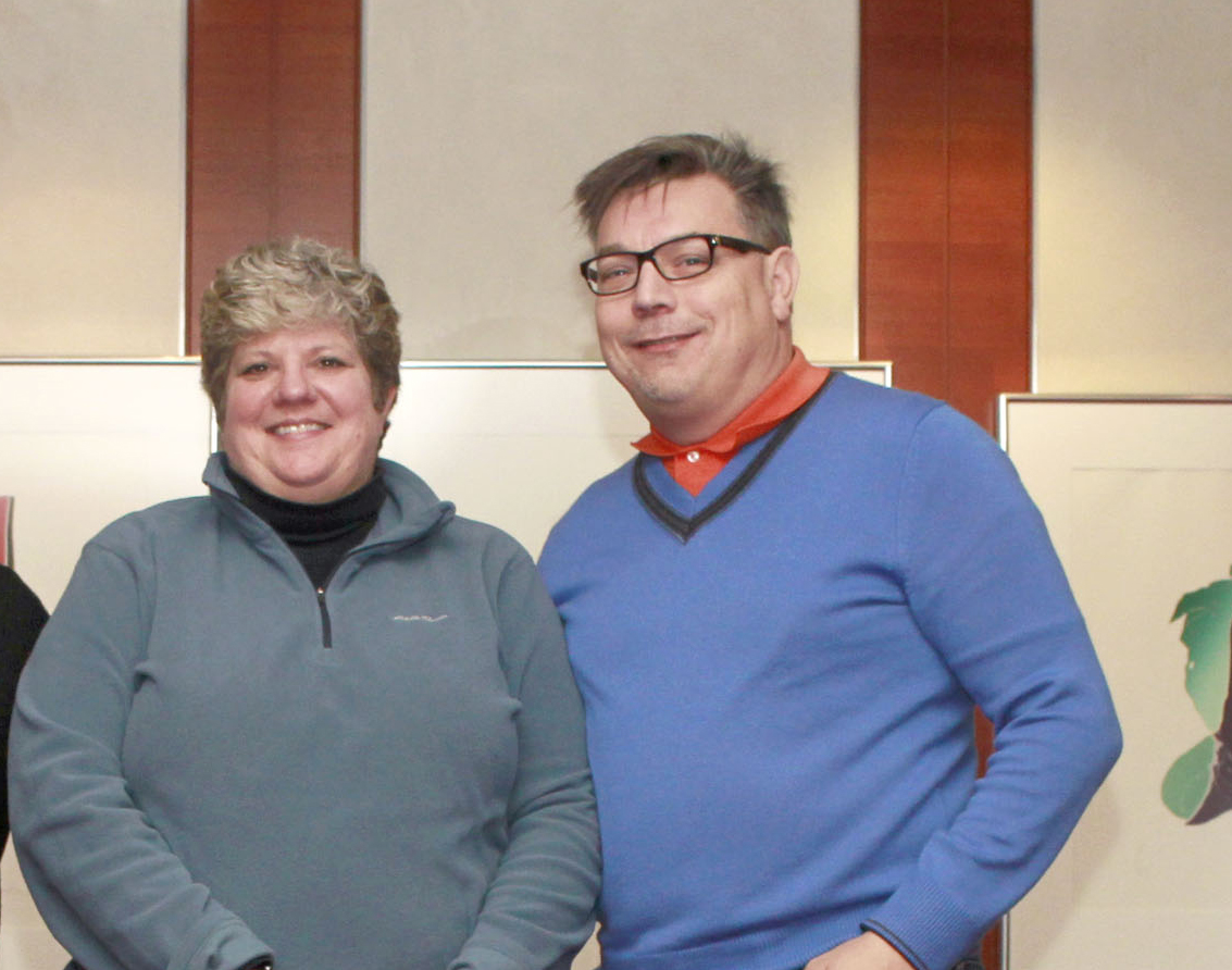 Federal Club Committee -   (from L - R) Constance Callahan, George Estelle