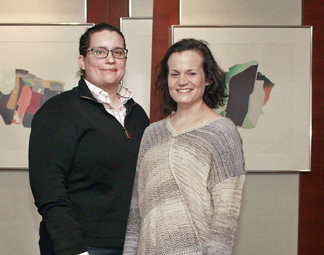 Operations Committee -   (from L - R) Brigid Scarbrough, Mariel Bumgarner