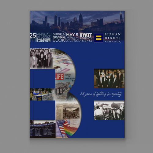 2012 - 25th Annual HRC Atlanta Gala Dinner & Auction