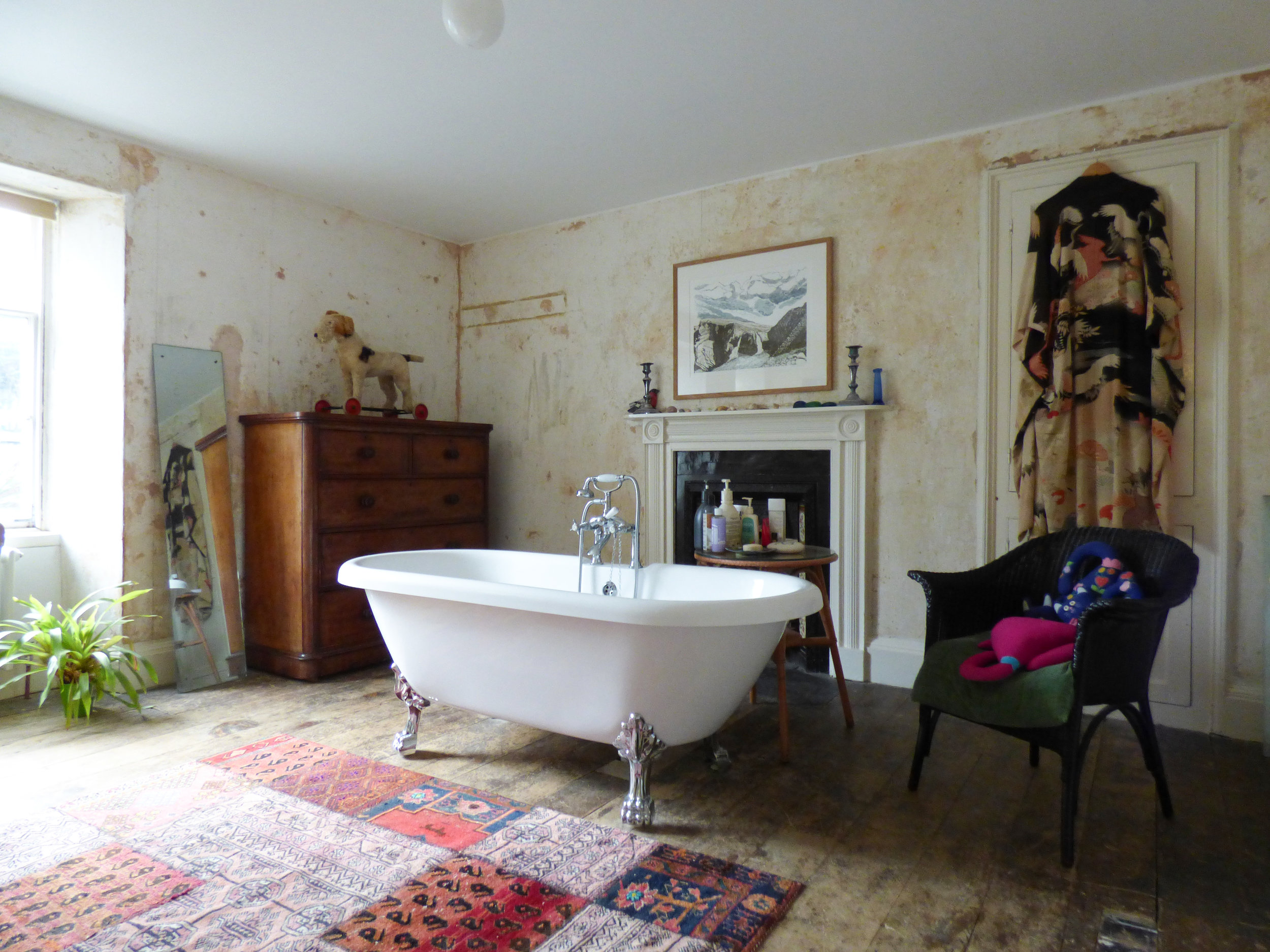 And we love our Victorian bath!