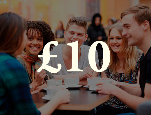 £10  pays for us to meet with  new group initiators  who need help getting started.
