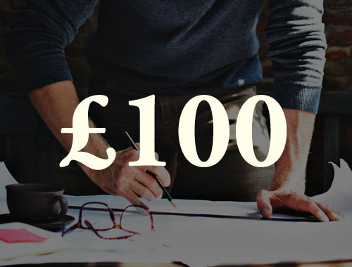 £100  gifts us a whole day to  develop the network and its tools .