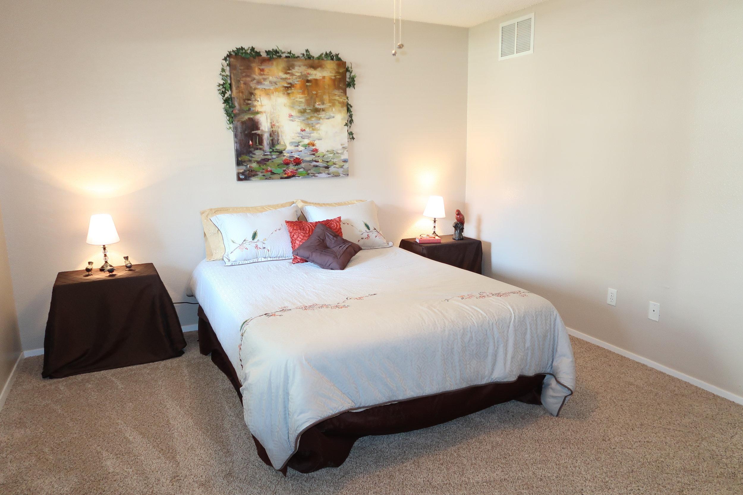 Montclair Estates Garland Texas Apartment Bedroom