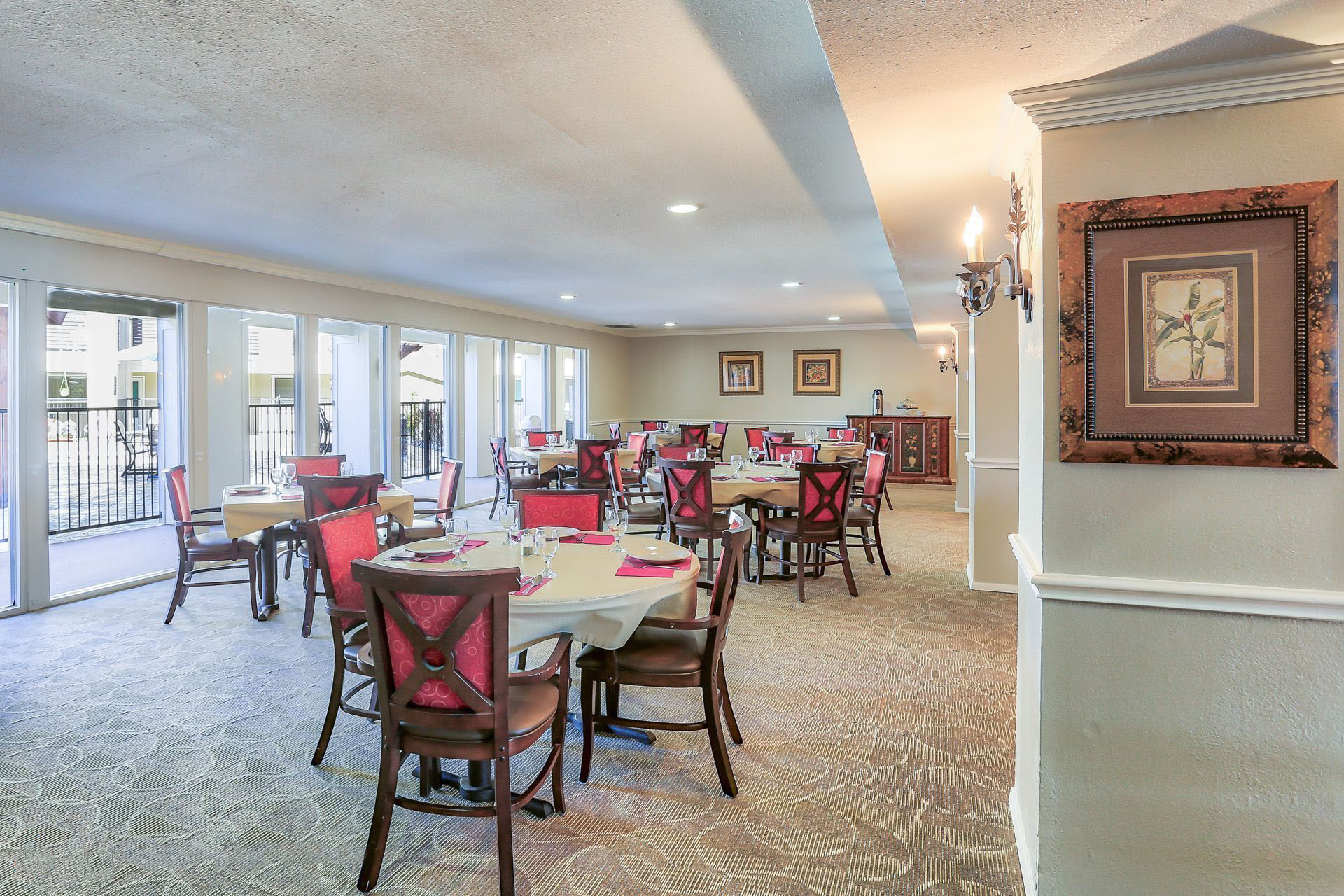 Montclair Estates Garland Texas Dining Room