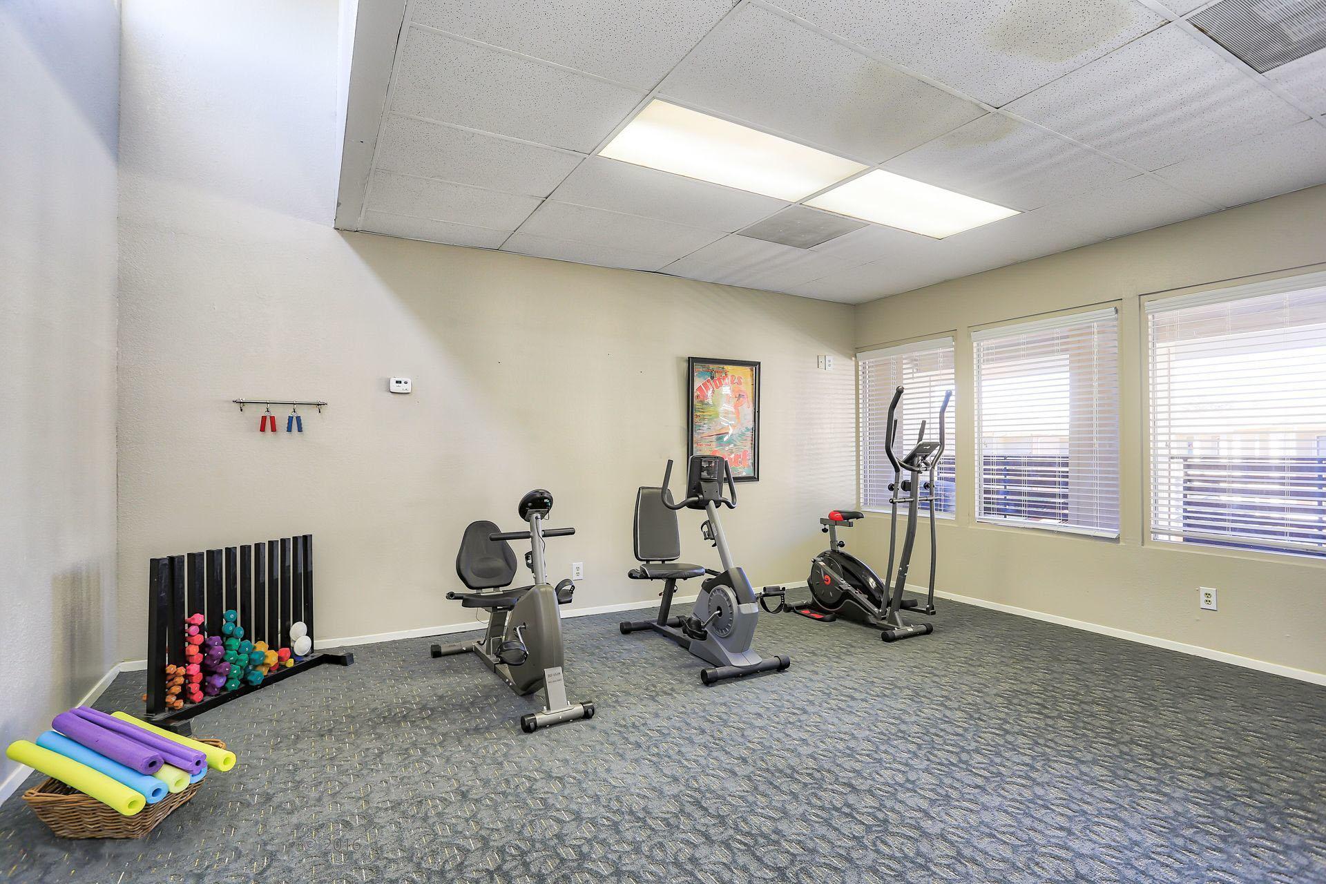 Montclair Estates Garland Texas Fitness Room