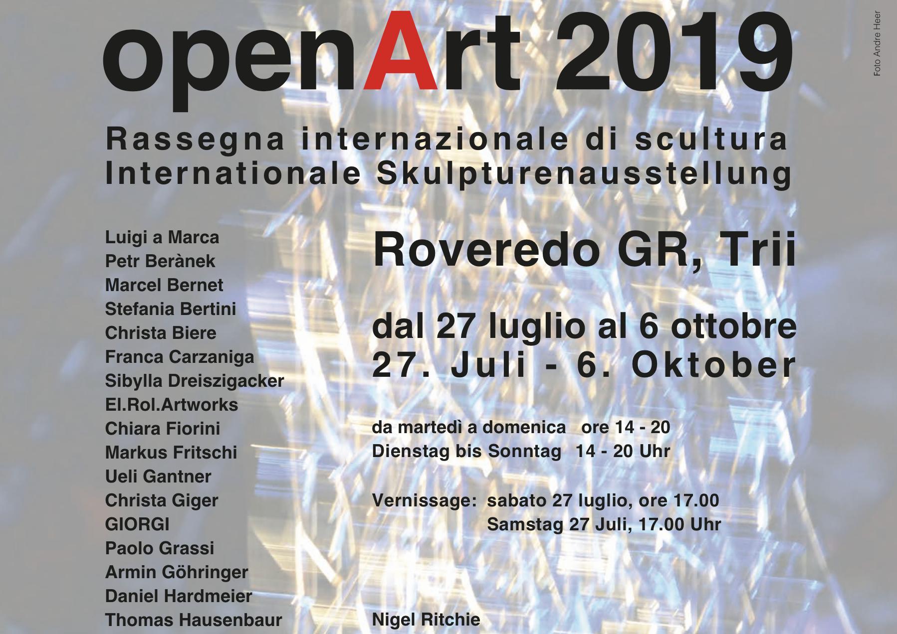 openArt - 2019 Roveredo GR
