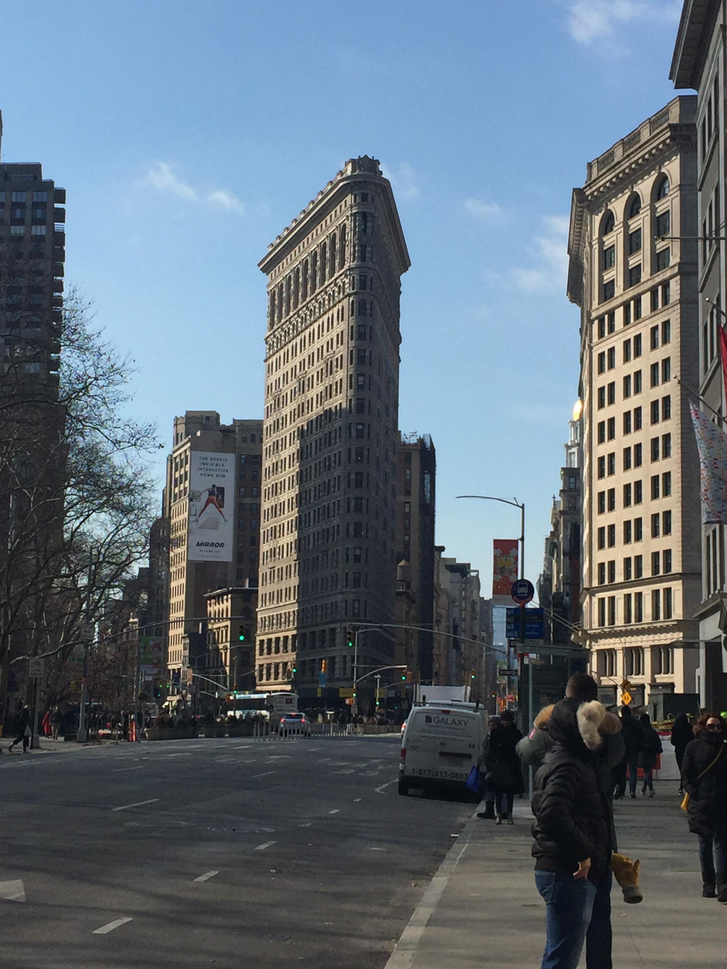 The beautiful NY Flatiron Building!