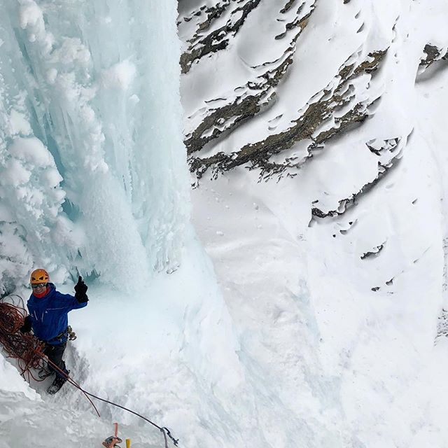 Sertig #iceclimbing #eisklettern #bergführer