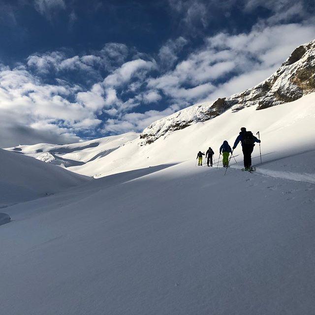 Skitouren in Bivio #skitouren#bergführer