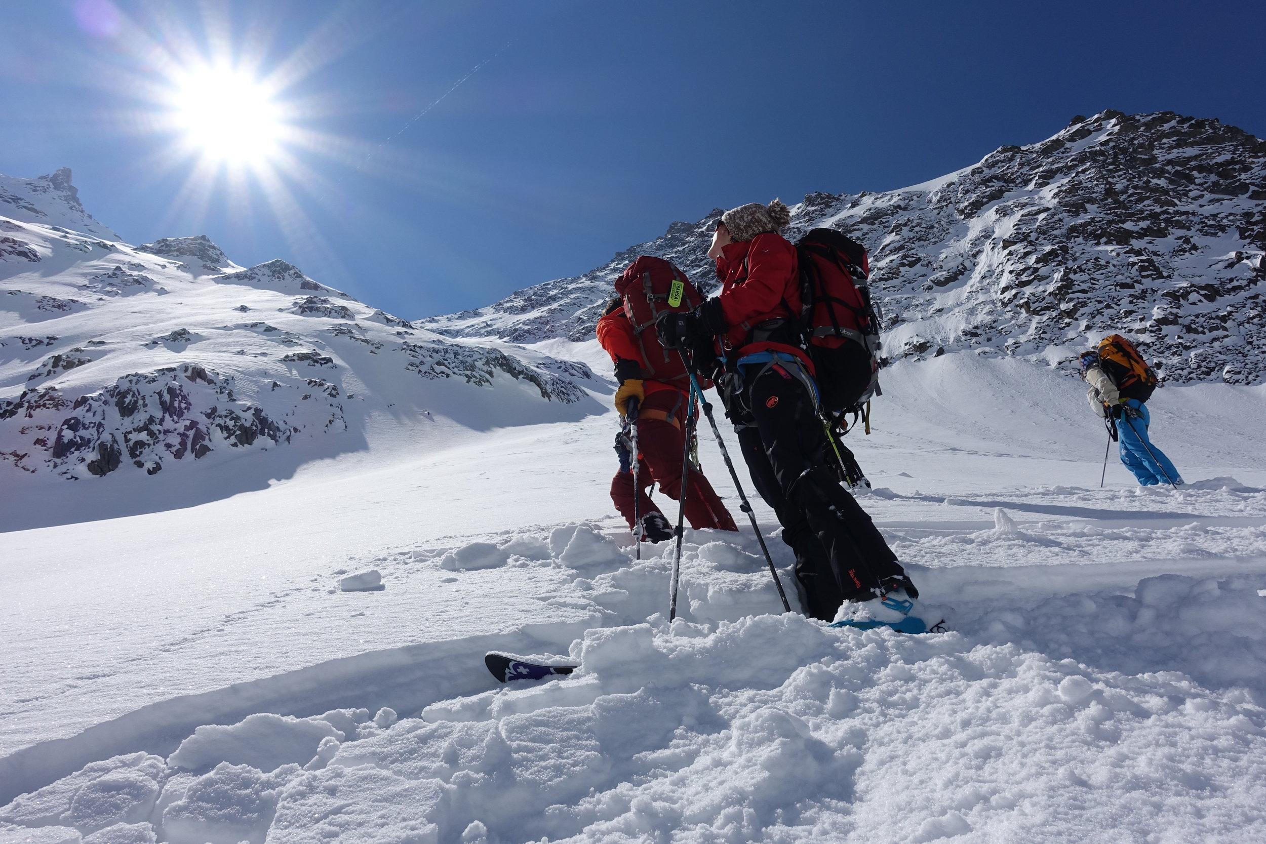 Walter Fetscher Skitouren