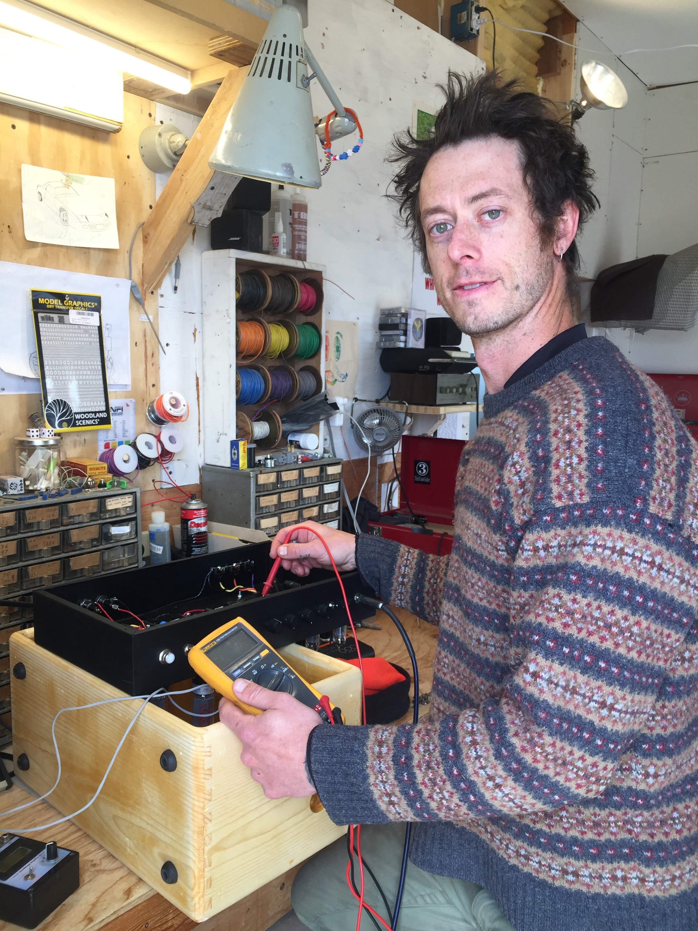 - High Desert Sonic Institute was founded by Jacob Erwin in the effort to spread his love of both electricity and music.