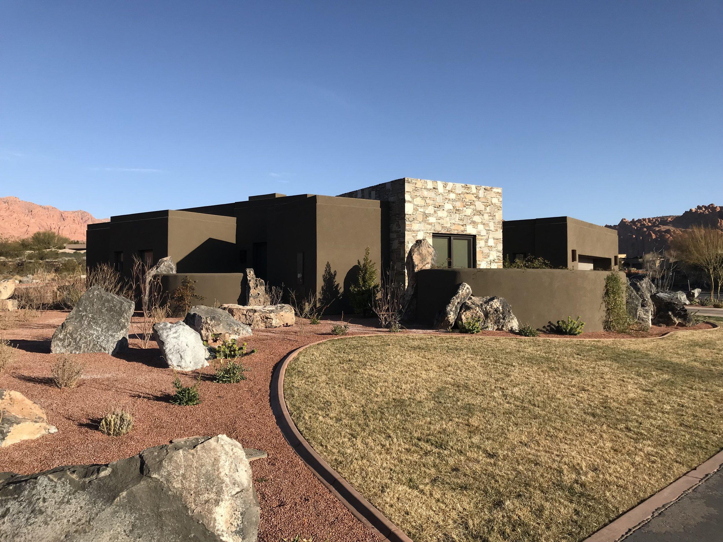 Modern Architecture St. George, Utah