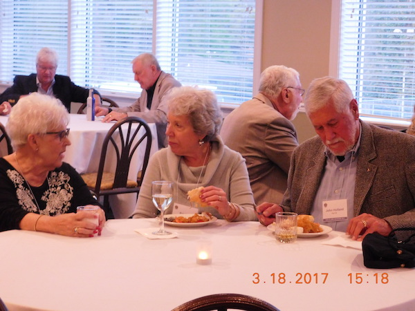 SAE 2017 dinner-10 tbd, Patricia and John Holland.JPG