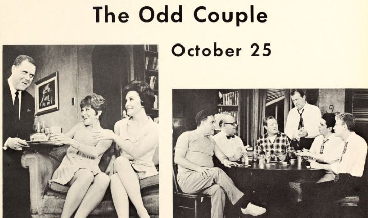 1967 campus events - plays - The Odd Couple-1.JPG