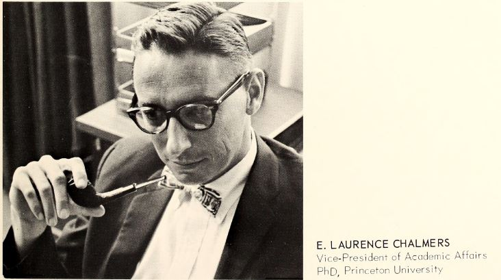 1967 FSU VP of Academic Affairs Laurence Chalmers (non-SAE).JPG