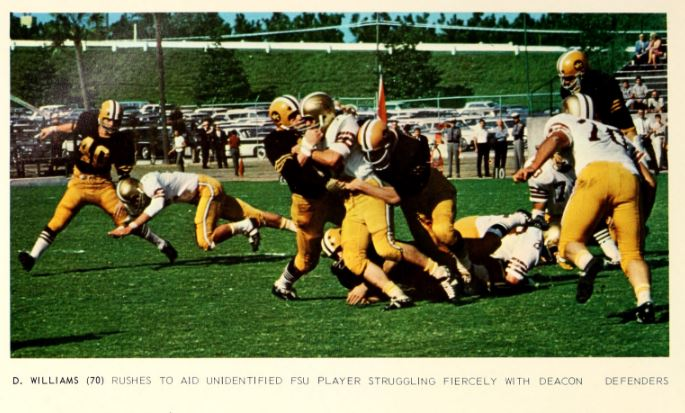 1967 Homecoming football game vs Wake Forest.JPG