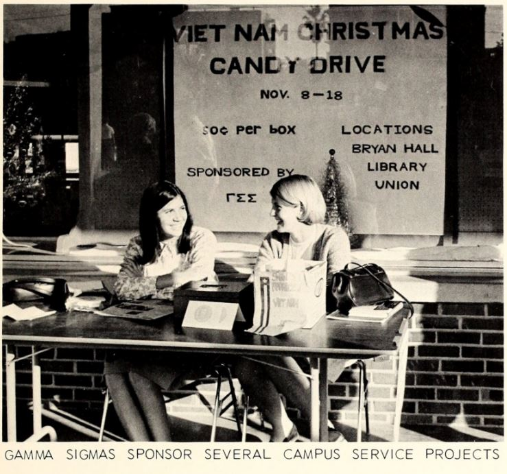 1967 sign of the times - Vietnam Christmas Candy Drive.JPG
