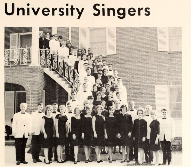 1967 sign of the times-The University Singers.JPG