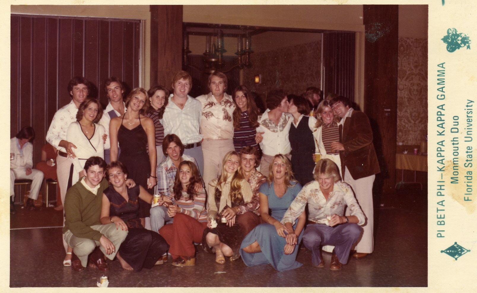1972 Pi Beta Phi, KKG and SAE.jpg
