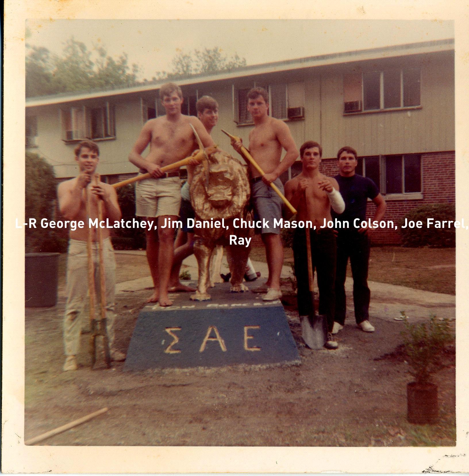 1962 GeorgeMcLatchey, JimDaniel, ChuckMason, JohnColson, JoeFarrell, Ray.jpg