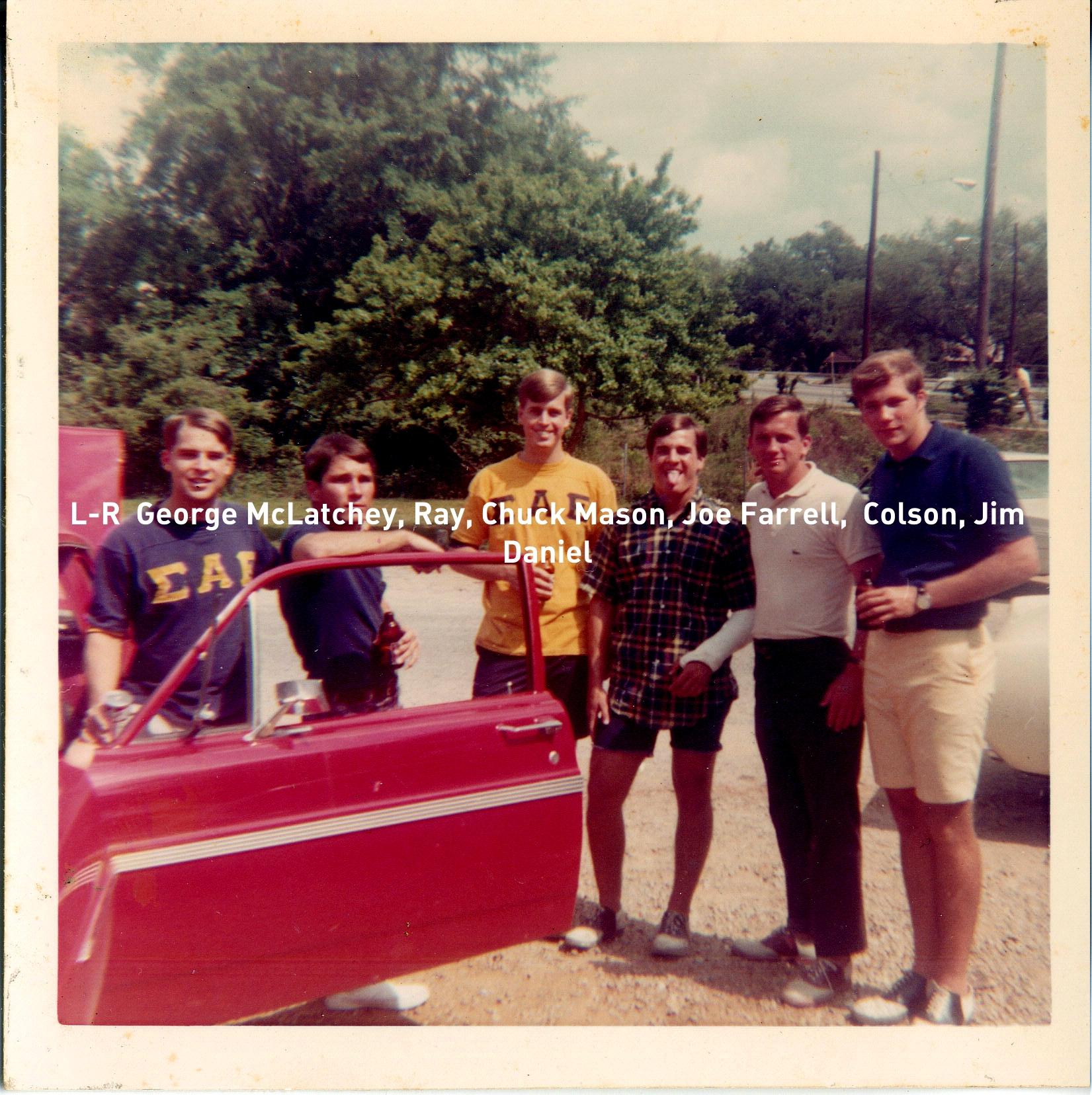 1962 George McLatchey, Ray, Chuck Mason, Joe Farrell, Colson, Jim Daniel.jpg
