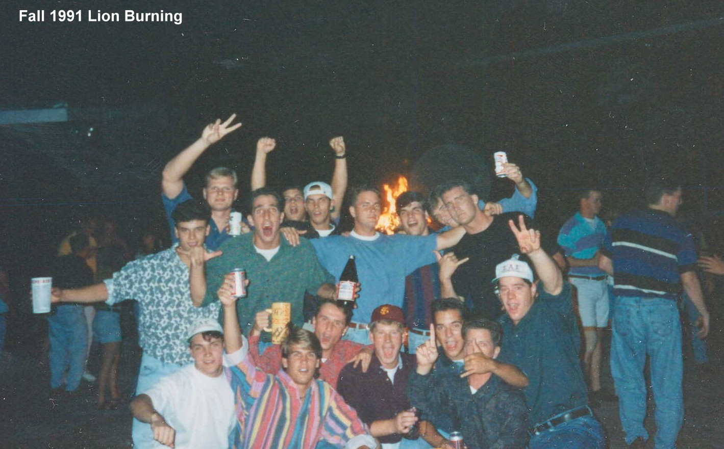 1991 Lion Burning group photo.jpg