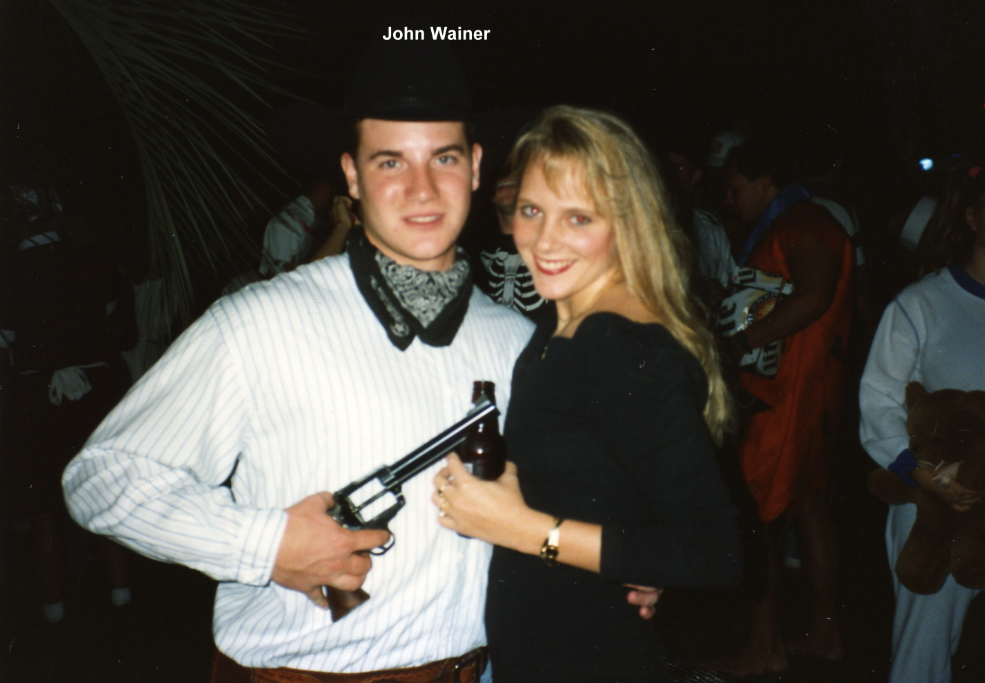 1993 JohnWainer at Haunted Block.jpg