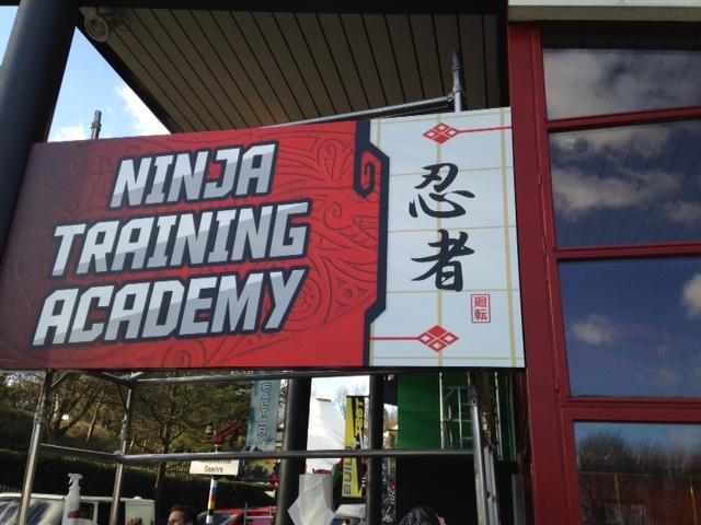 Ninja Training Academy Signage