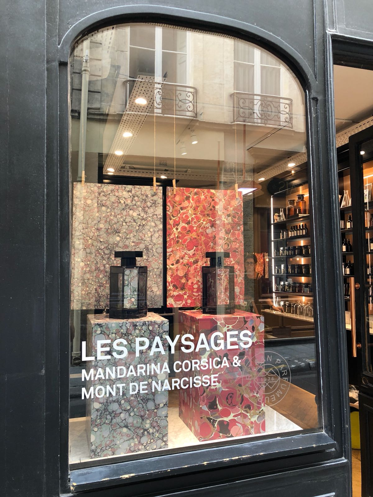 Marais Paysages window display