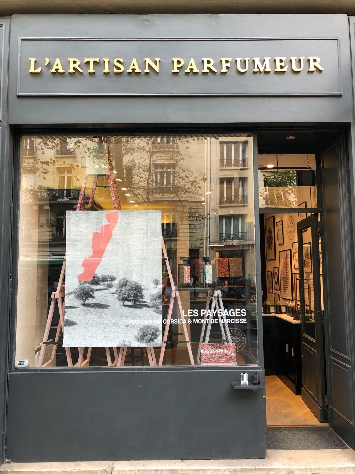 L'Artisan Parfumer Paysages Window at Raspail