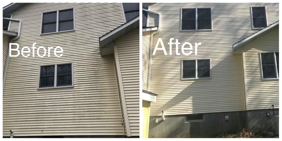 CM Pressure Pro was able to make this home in Oneida, NY shine. Our exterior cleaning service can allow your siding to last longer and look brand new.