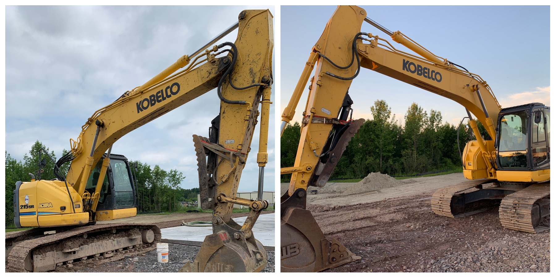 Mud filled tracks, grease pockets, and oxidation are no match. Your company image is a part of how your equipment looks. If you pride yourself on company image then let us improve that image.