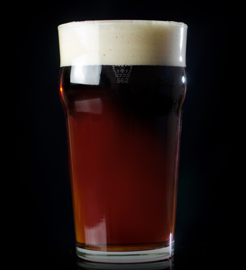Brown Ale - Very malt-forward, creamy, smooth, and with a toasted nutty finish. A great brown ale can be found at Toronto's, Left Field Brewery.