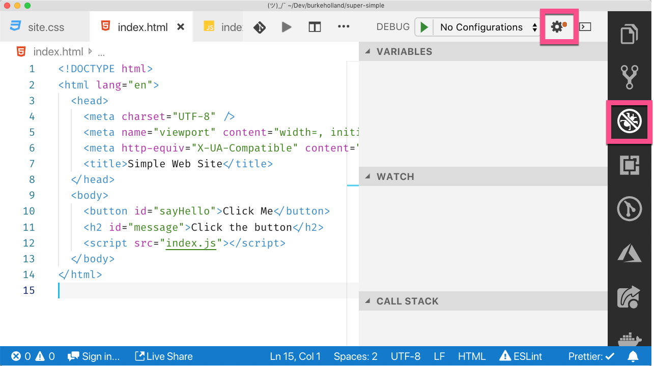 How to Stop Using Browser Dev Tools and Start Using Your Editor's
