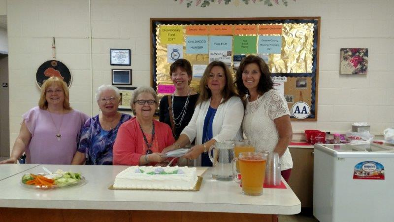 Celebrating the grant from 100 Women Making a Difference in Green County