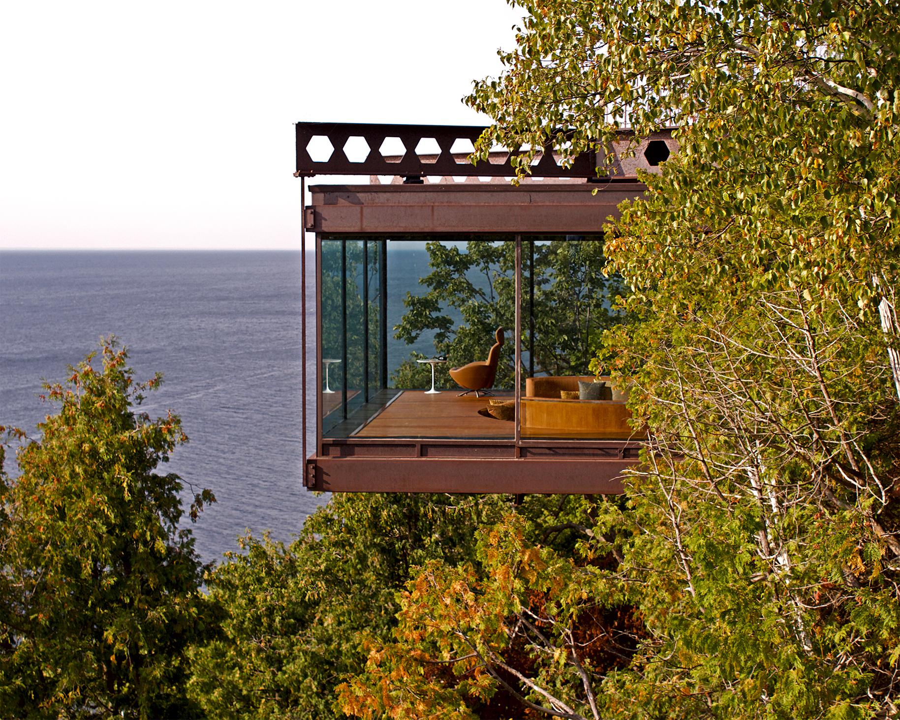 lake michigan cliff house -