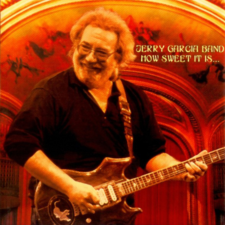 Jerry Garcia - How Sweet It Is - Image by Michael Conway