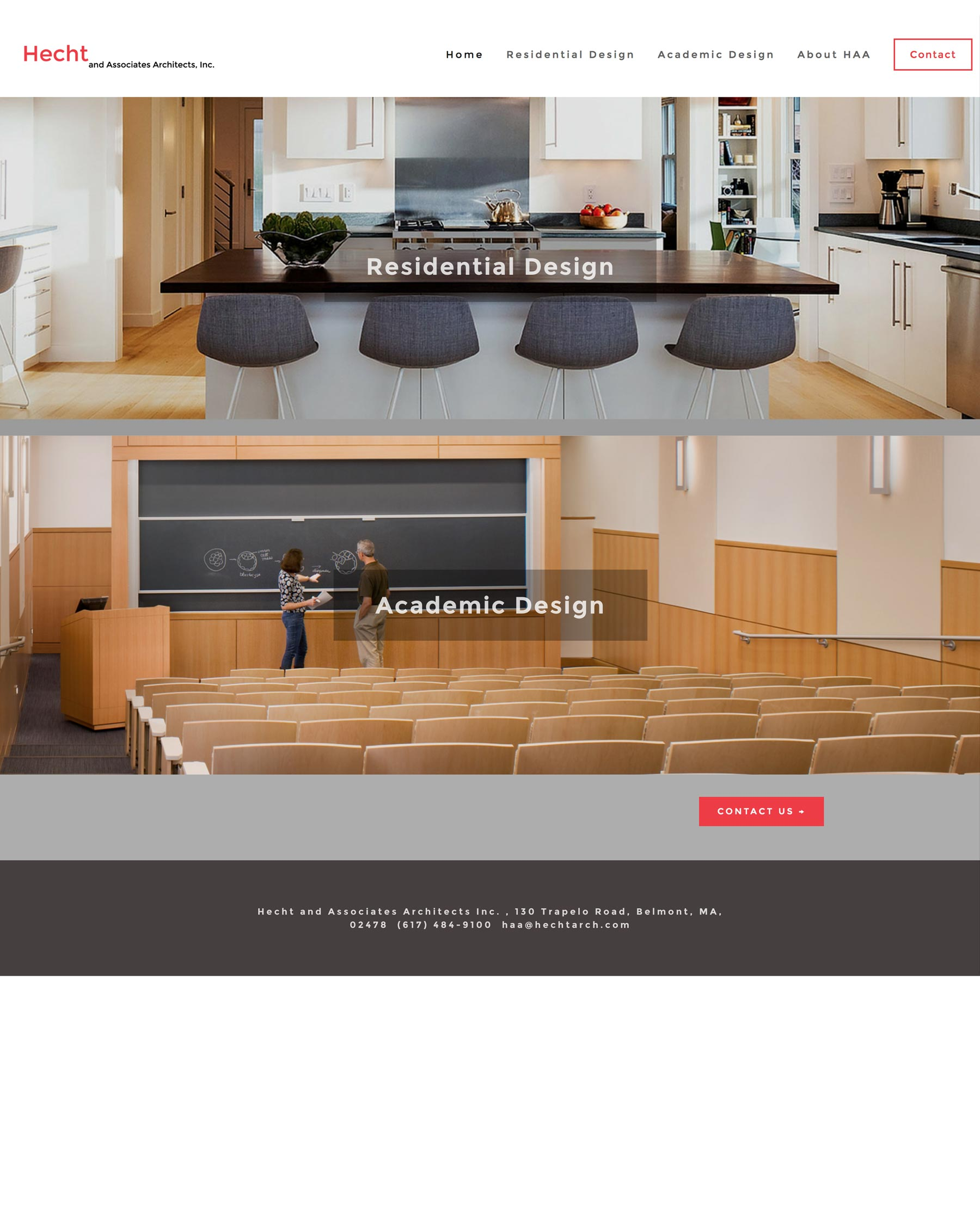 Hecht & Associates Architects - Residential and Academic Architectural Firm