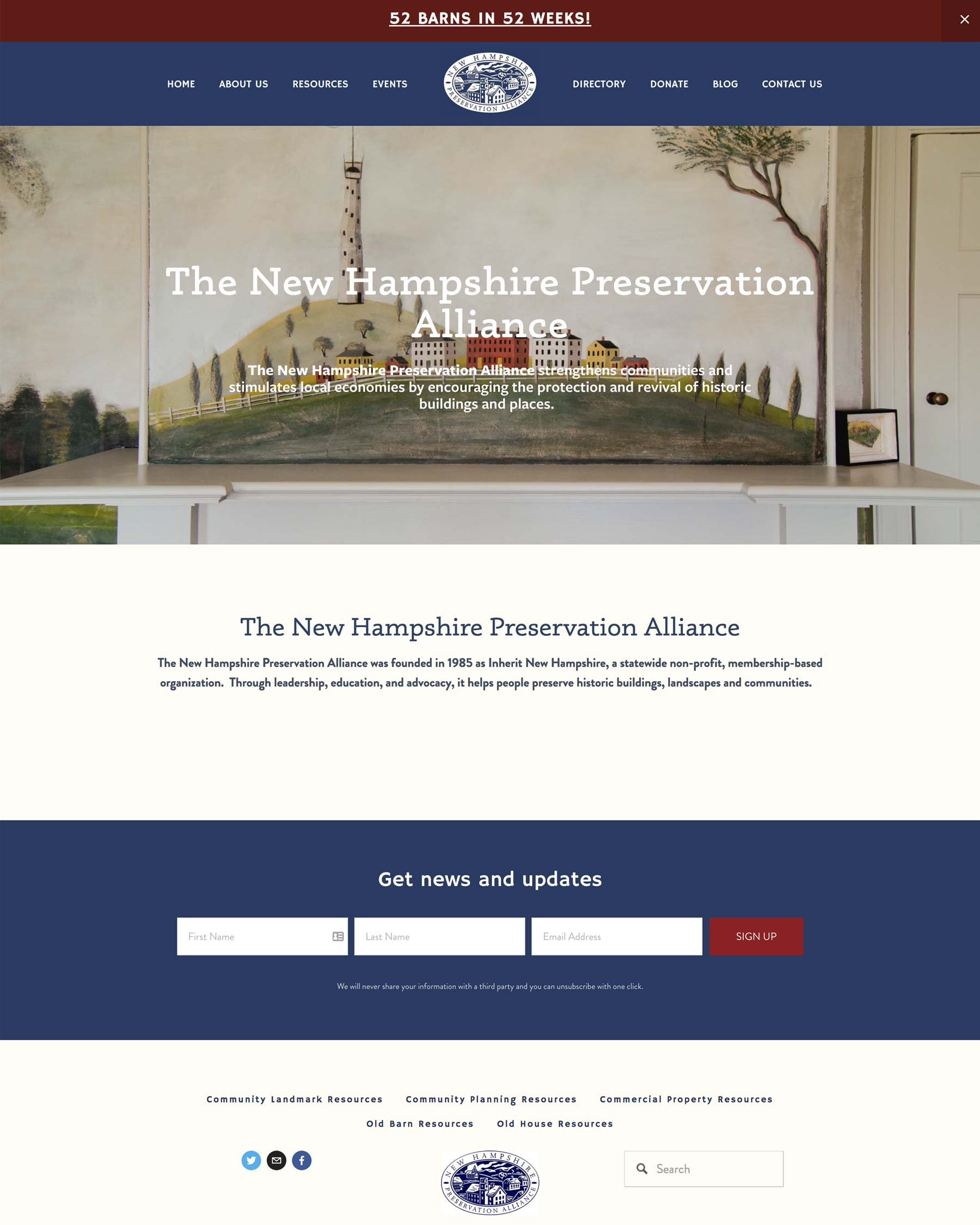 NH Preservation Alliance - A Nonprofit Organization Dedicated To Saving Historic Buildings