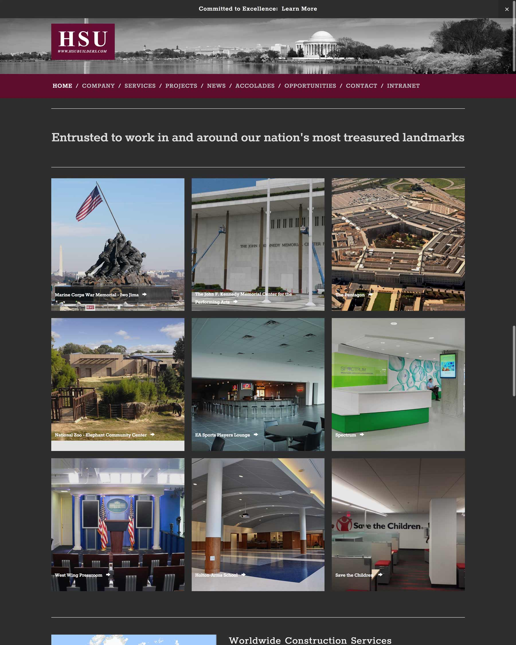 HSU Development - A Construction Firm Specializing In Federal Government Facilities