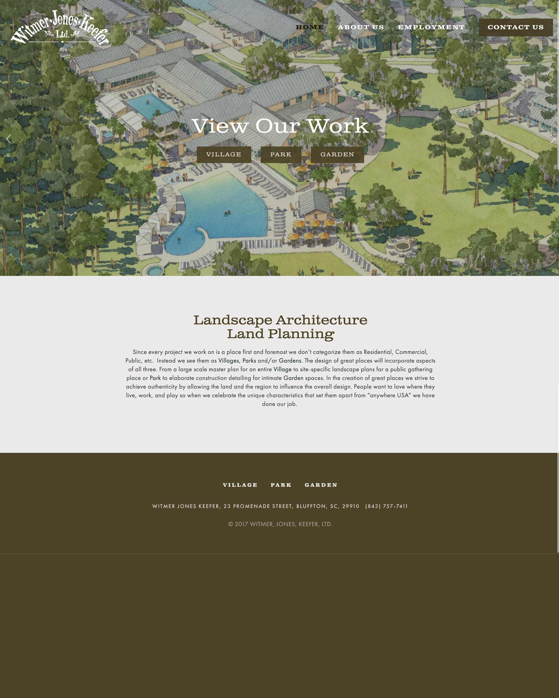 Witmer・Jones・ Keefer - A Commercial and Residential Landscape Architecture and Land Planning Firm
