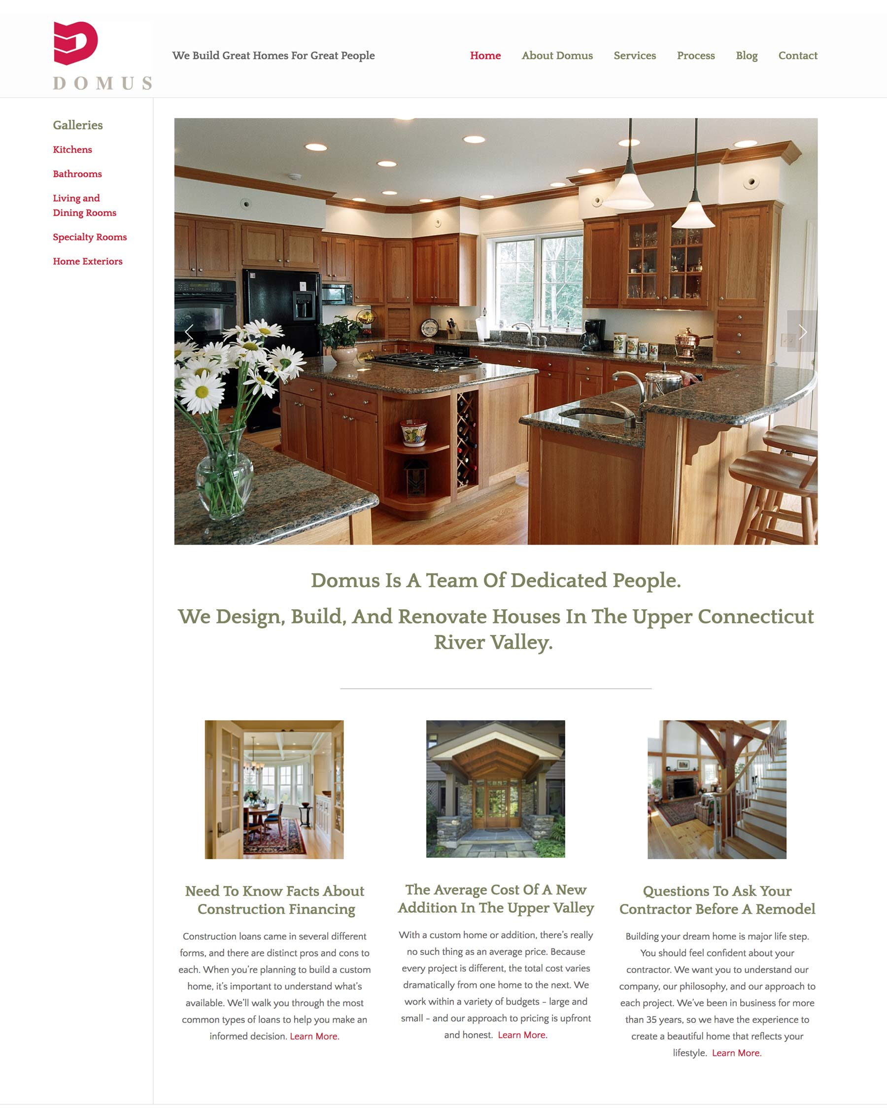 Domus Custom Builders - A Luxury Home Construction and Remodeling Company