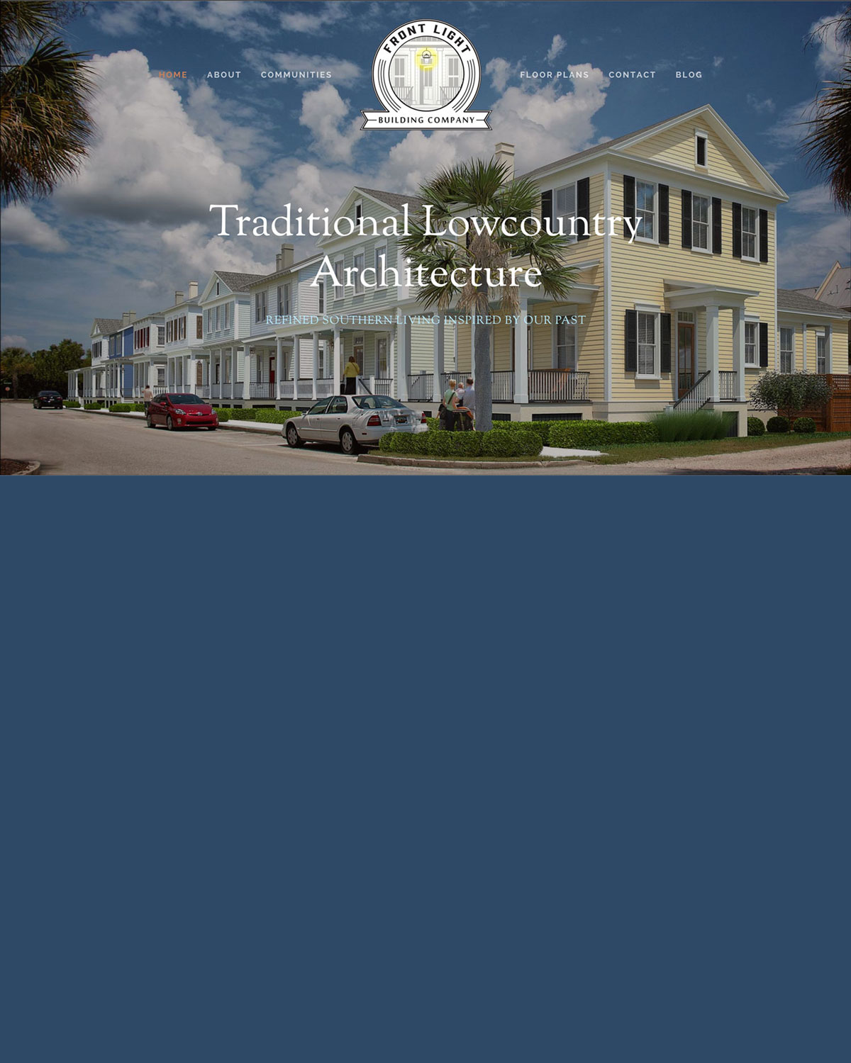 Front Light Building Company - A Home Developer and Planned Community in South Carolina